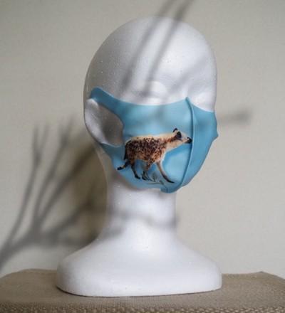 TAKUMIBA 日本製クール立体マスク (普通サイズ) ハイエナ