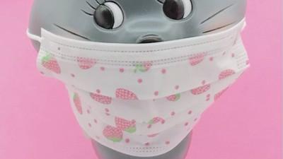 ♡いちごの不織布マスクが入荷しました♡