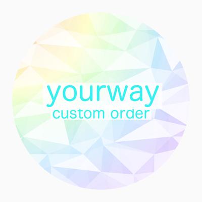 yourway custom order 絵型ポストカード&お見積もり