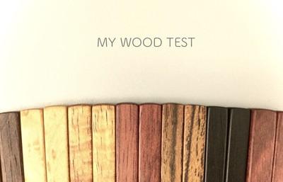 MY WOOD TEST じぶんにぴったりの「天然木のお箸」はどれ?