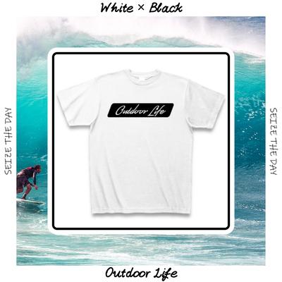 爽やかな海の風を感じるデザインTシャツ*Outdoor Life*