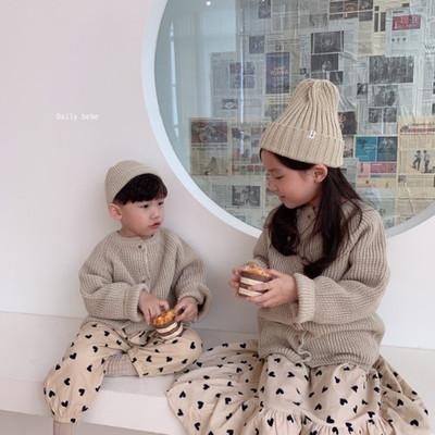 韓国子供服daily bebe  カーディガン