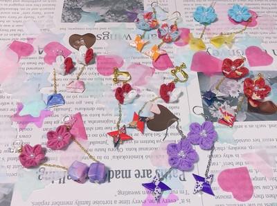 夏らしいイヤリングを日本の和と共にいかがでしょうか?