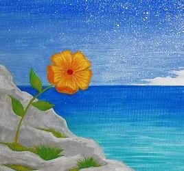 どんだけ苦しもうが咲かせた花は枯れません。
