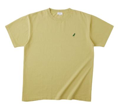 Saving Animals Tシャツ 廃棄予定の、食材や野菜の切れ端等から、染料を抽出し染めました