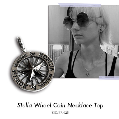 Stella Wheel Coin Necklace Top【品番 17S2016】