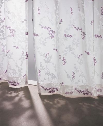 レースカーテンを主役に!1枚吊りでも使えるレースカーテン「プレリ」