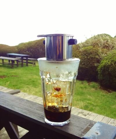 暑い国からやってきたアイスコーヒー