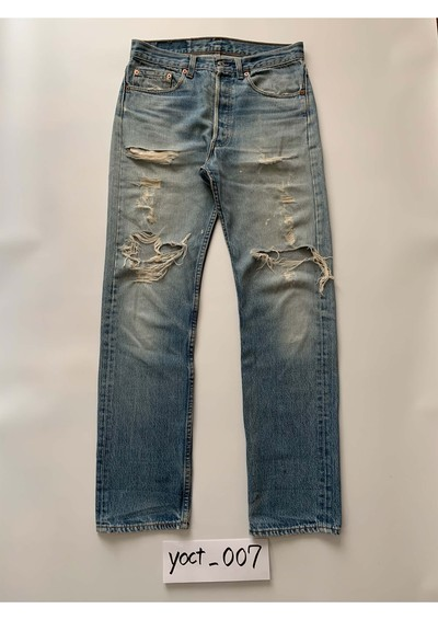Levis501 hard destroy -made in usa