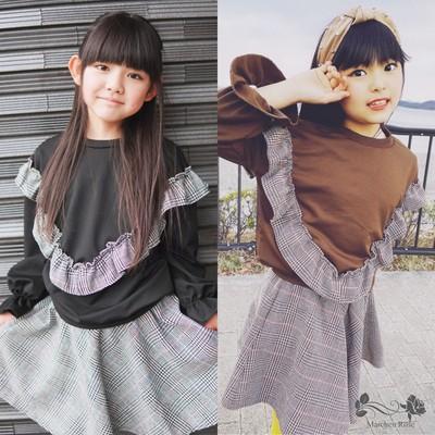 (0178)【フリルセットアップ】ルナちゃん るあちゃん着用