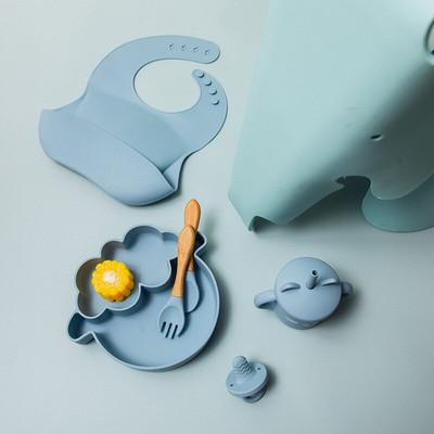 離乳食が始まる前に揃えたくなる! 可愛くて便利なシリコンベビー食器セット