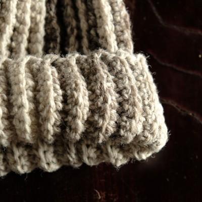 ポルトガルのフィッシャーマンが愛する手編みウールキャップ unisex