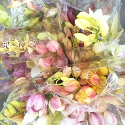 仏壇用のお花にも。ライフスタイルに合わせた使い方ができるオリジナルのミニ花束