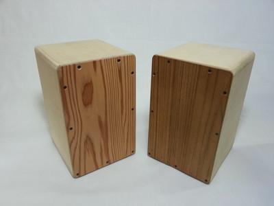 夏休みの工作にオススメ!親子で作れる木の太鼓「カホン」のご紹介!