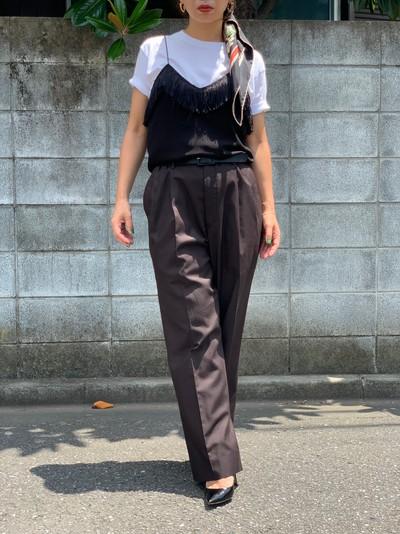 【vintage】Fringe camisole