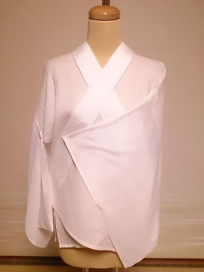 麻楊柳の半襦袢と洗える正絹の替え袖