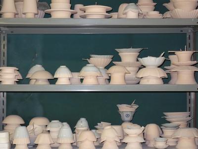伝統工芸士・宮腰さんの創作作業風景です