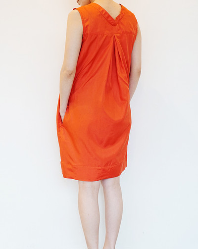 【AROMAS】SILK COTTON DRESS