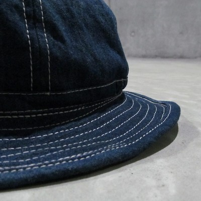 『50S DENIM MODIFIED HAT』復刻とは一味違うヴィンテージ生地のデニムハット