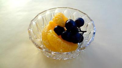 日々是英国 No sweet without sweat. アイスクリームはヴィンテージ・ガラス皿で