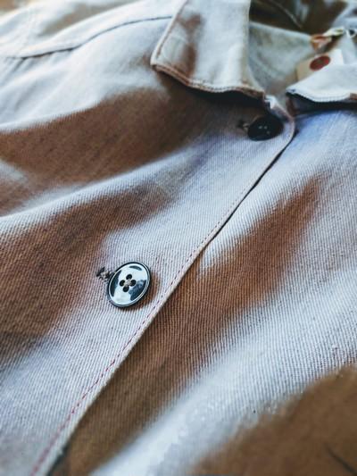 1960s-70s EURO Cotton Work Jacket Mens-ML