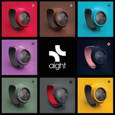ワンタッチで簡単装着!カラフルでおしゃれなフランス生まれの腕時計「aight」(アイト)