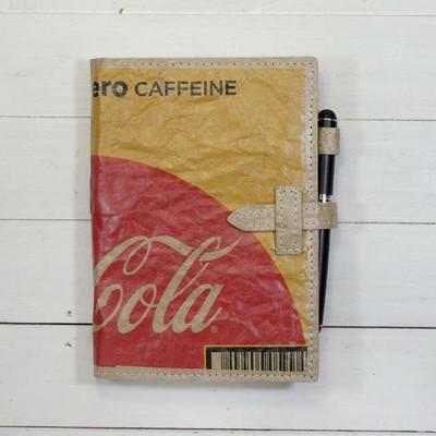 ダンボールで作った新素材でノートカバーを作ってみた