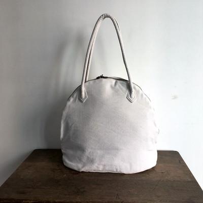 1960-80年代フランスのベッドリネンを使用して作成するバッグ。MARTAU.Shell Bag