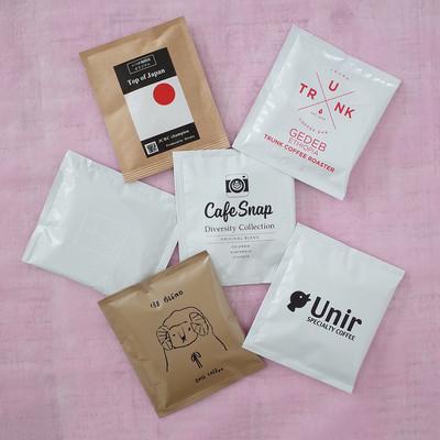 コーヒー焙煎日本チャンピオンの優勝ブレンドも!全国6店の人気コーヒーが味わえるドリップバッグ発売!
