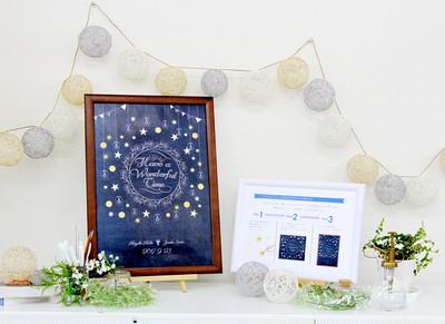 「ふたりらしい結婚式」を形にします! オーダーデザイン「オリジナルヌプシャルボード」のご紹介♪