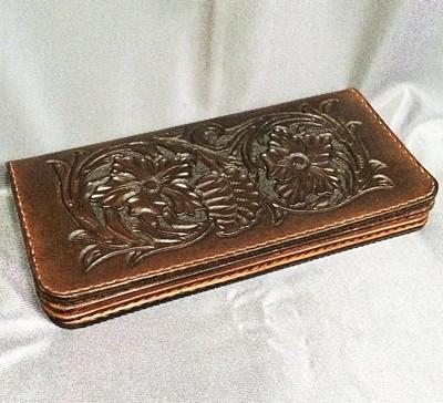 手縫いの革製品を製作販売/WIZARD LEATHER