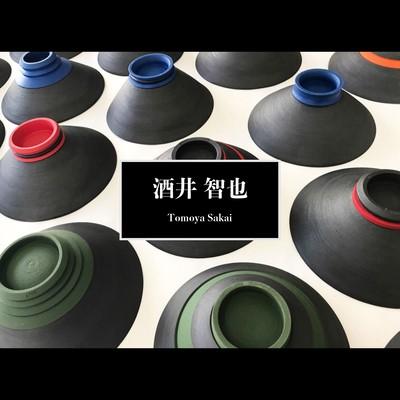 洗練されたスタイリッシュなフォルムと目を惹く鮮やか色の器 陶芸作家【酒井智也】bowl 碗が入荷です