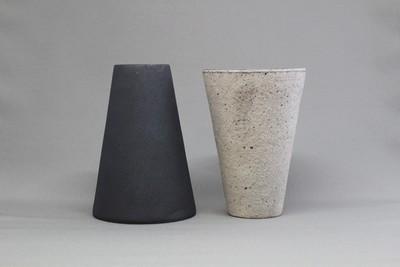 無骨と繊細さを持ち合わせる陶器【遠藤岳】白と黒のタンブラー 通販 取扱店