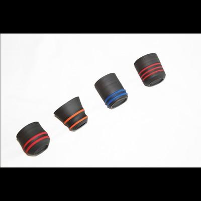 スタイリッシュなフォルム黒と彩色のコントラクトが美しい器 陶芸作家【酒井智也】フリーカップタンブラー
