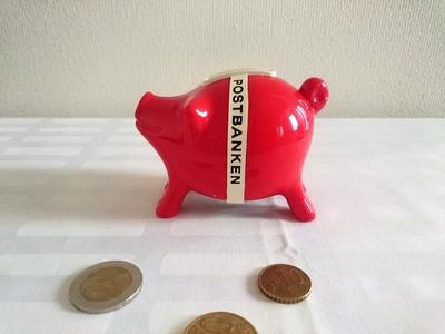 北欧フィンランドヴィンテージアイテム:ぶたさんの貯金箱