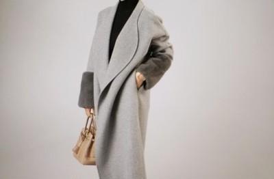 大本命コートは究極美ラインで。
