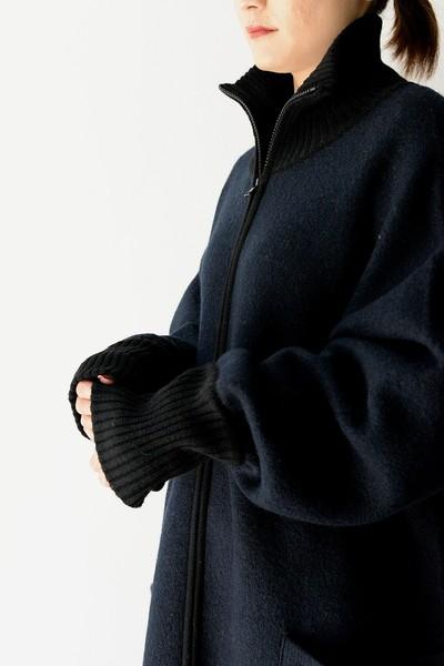 今の季節にぴったり!【ROOM211】knit coat