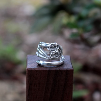 100%ジャパンメイド の 銀の指輪