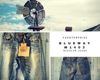 色落ちした爽やかなインディゴブルーのジーンズをあなたにお届けしたい。
