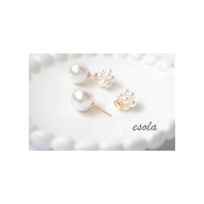 白で攻める☆春夏のシンプルアクセサリーがとびきり可愛い!