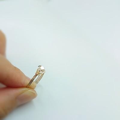 あなたが実現したい夢のストーリーは何ですか?自己実現に導くハーキマーダイヤモンドの指輪