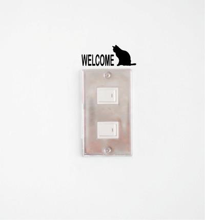 新作!猫ちゃんステッカーで部屋を簡単リメイク!