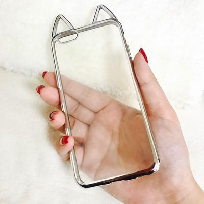究極にシンプル!でも可愛い!ネコ好きなアナタにピッタリなクリアiPhoneケース