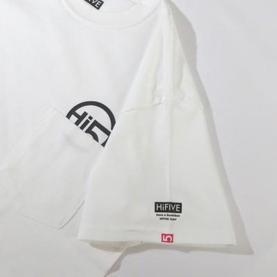 シンプルで飽きないから長く着れる。チラ見せポケットTシャツ ホワイト