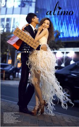春のナイトデートはちょっぴり高級なドレスで♡