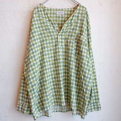 USA古着 1960s cotton pullover shirts