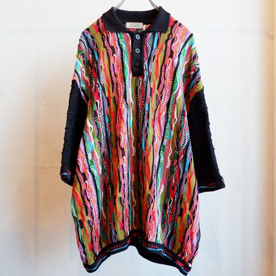 """COOGI"" knit polo shirts"
