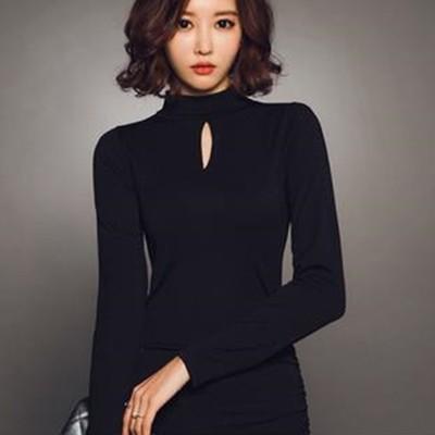 春夏はマーメイドラインで美人スタイル♡フェミニンなブラックミニワンピのご紹介♬