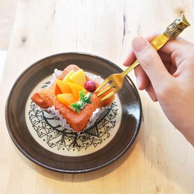 北欧リサ・ラーソン×益子焼の和食器