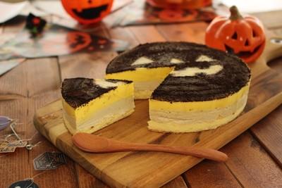 \秋の味覚!ほっこり焼かぼちゃジェラートケーキ/